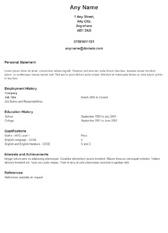 Student Resume Maker from careercompanion.cv-creator.com